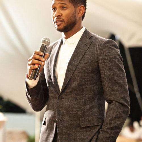 Usher Dinner Event